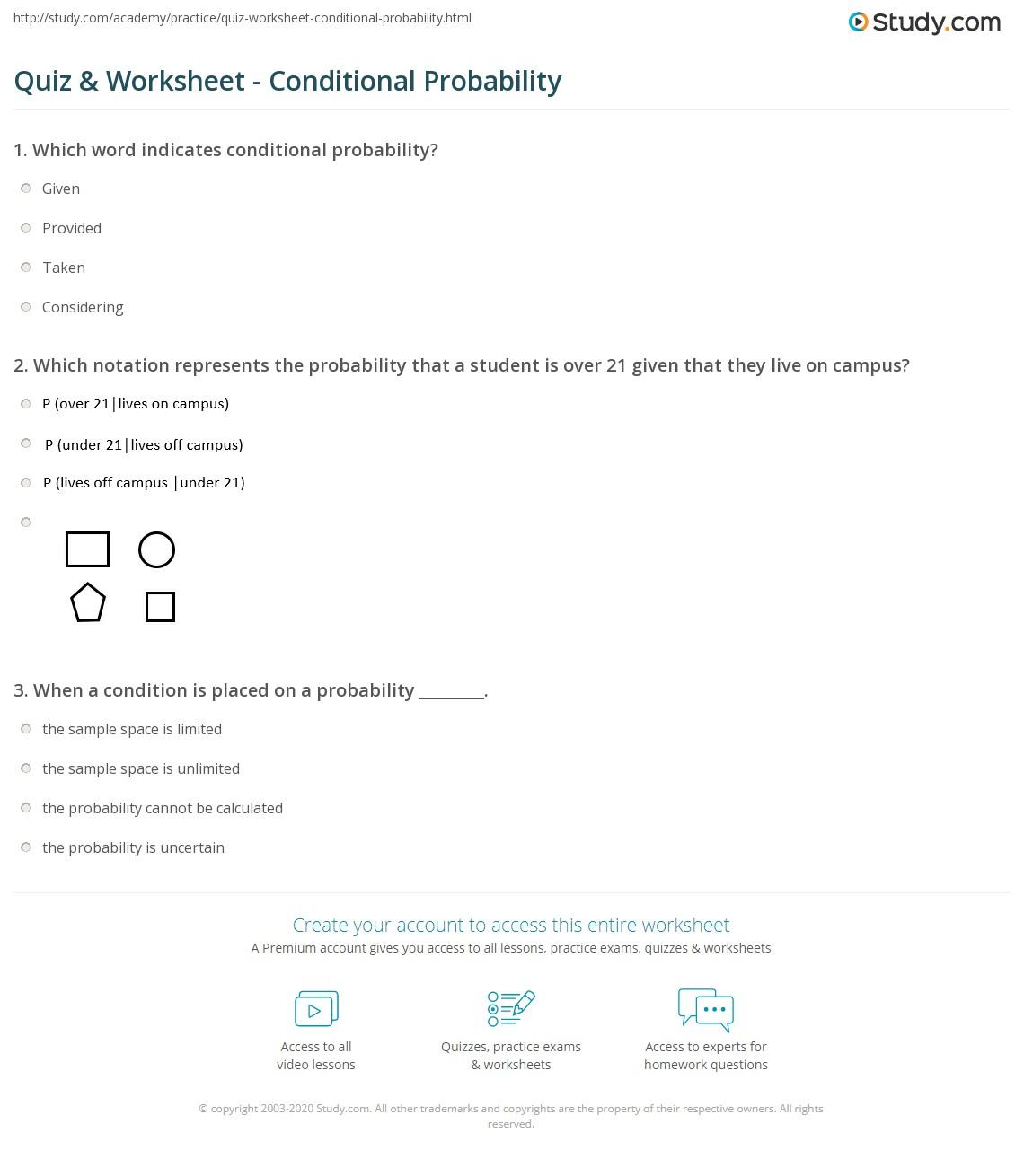 Mathworksheetsland Probability Word Problems Answer Key