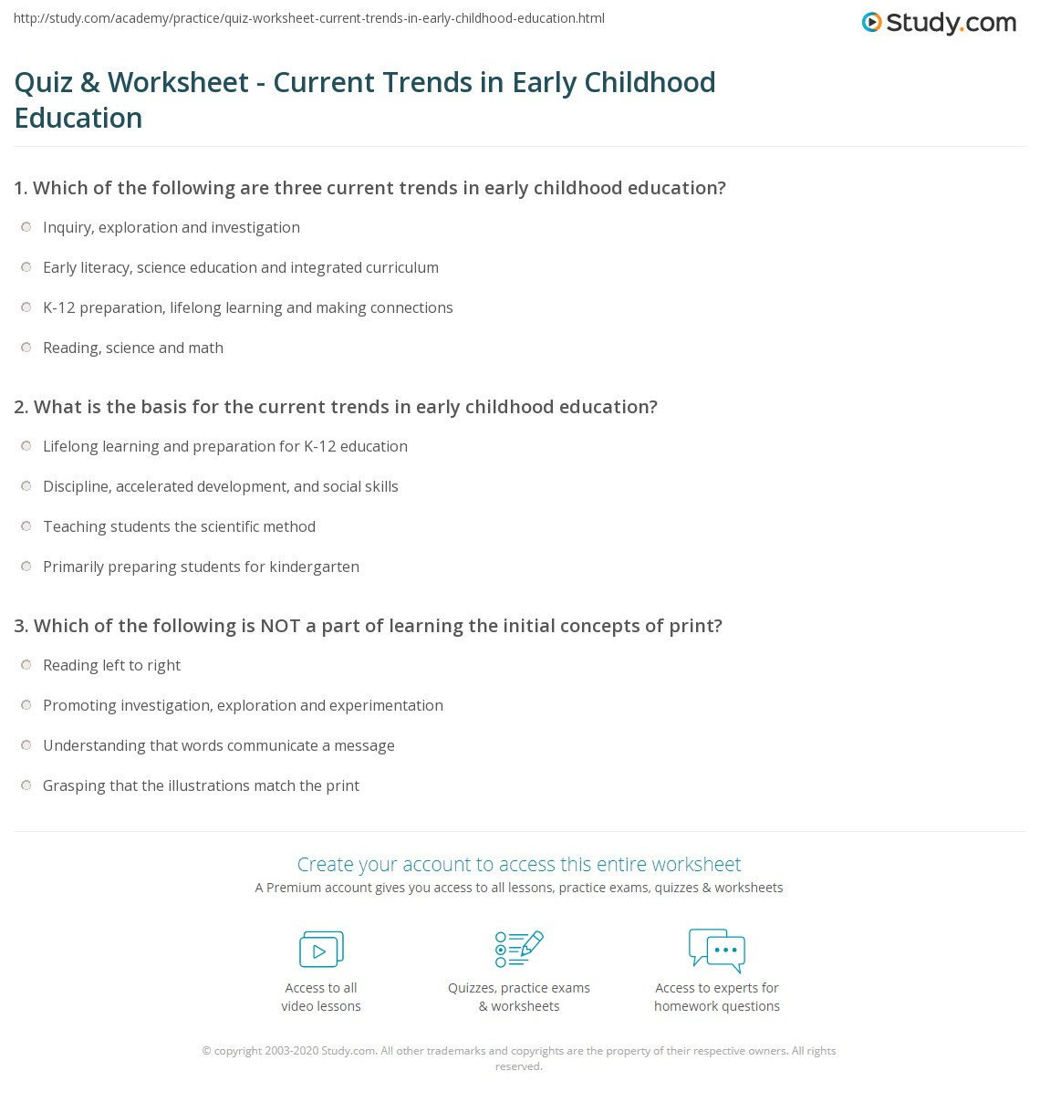 Accelerate Learning Connections Math Worksheet