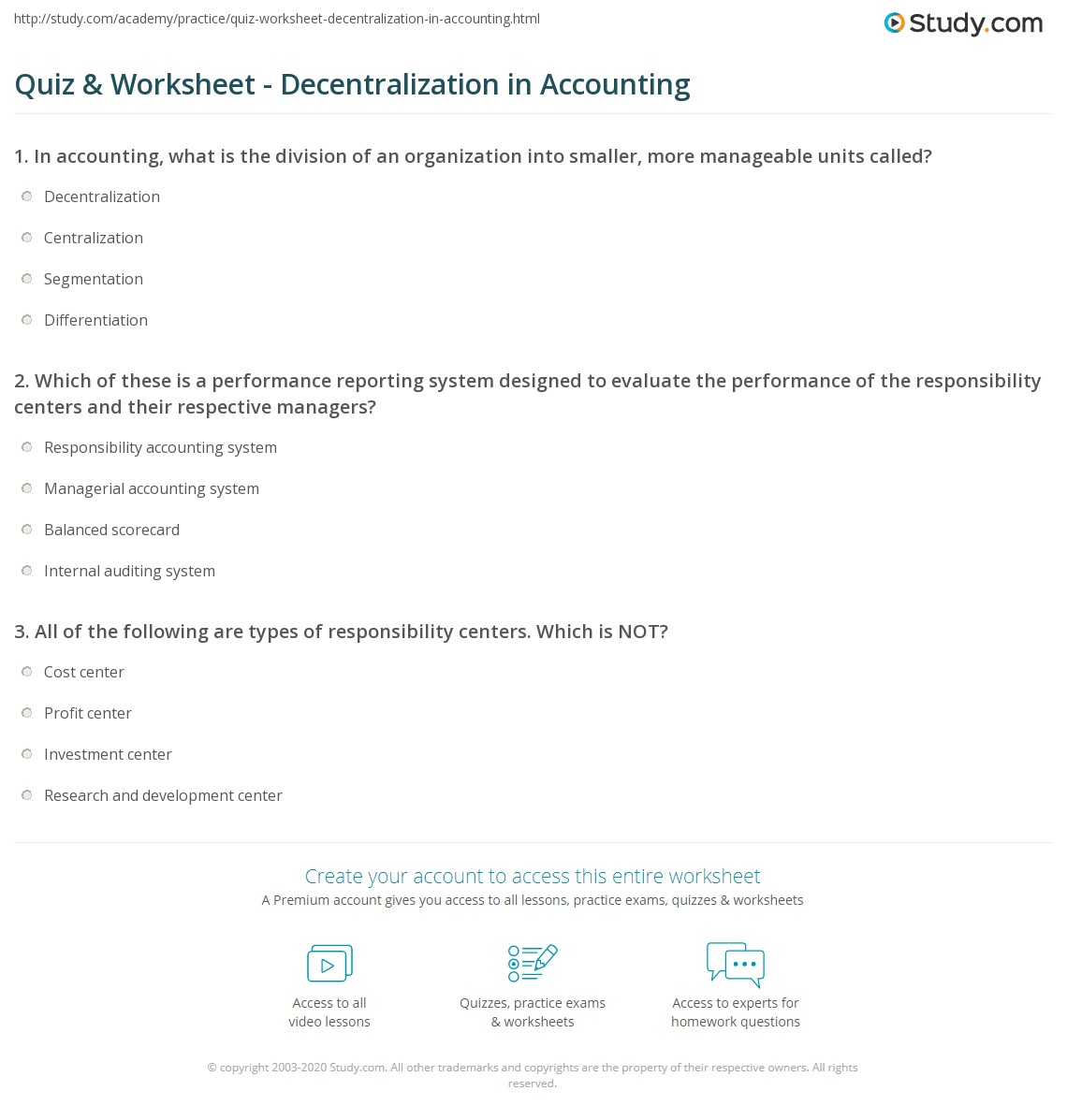 Worksheet Example In Accounting
