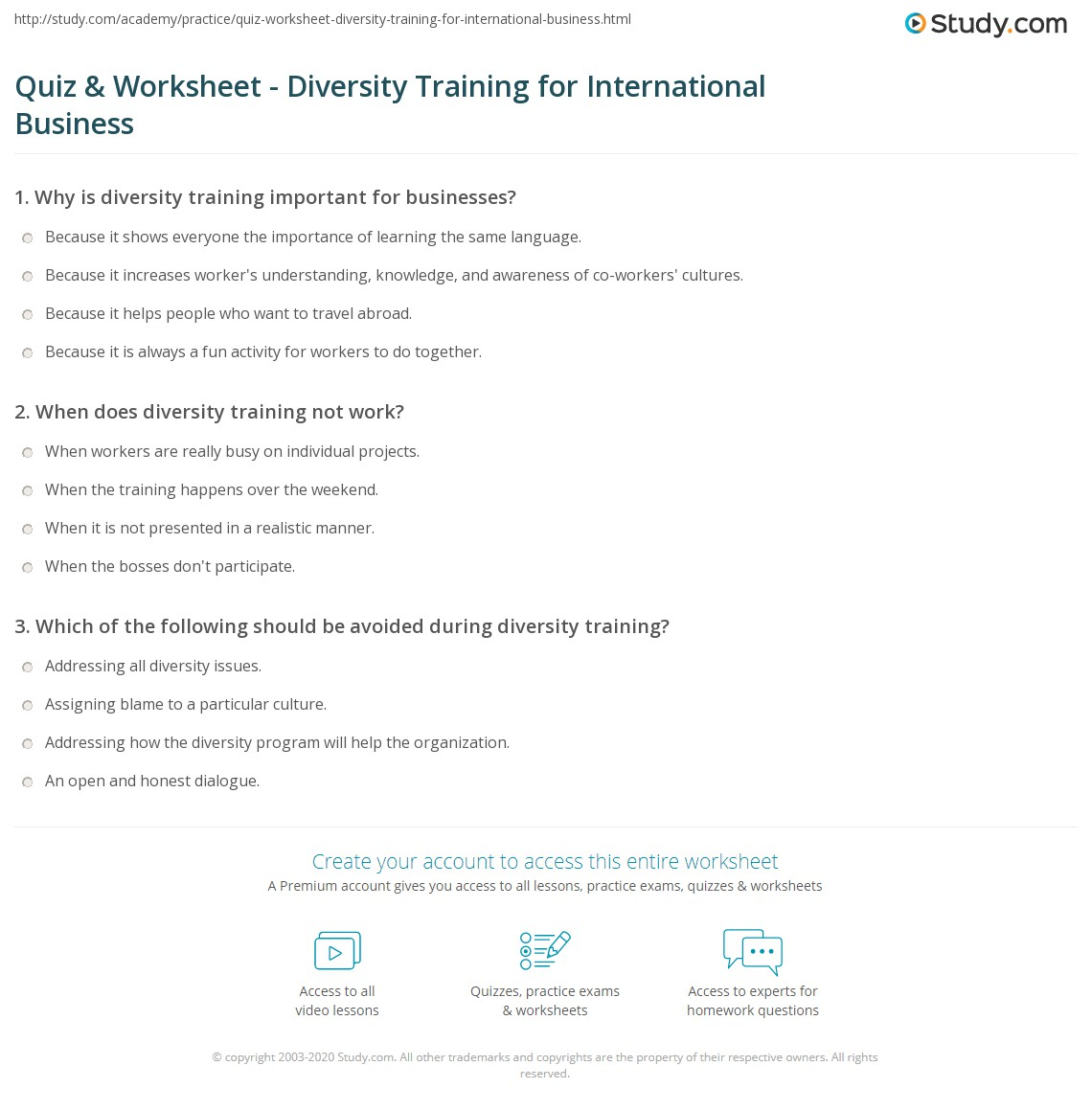 Printables Diversity Worksheets Mywcct Thousands Of