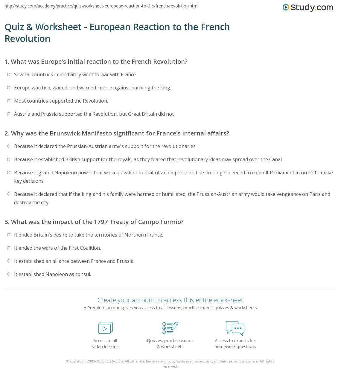 Worksheet French Revolution Worksheet Grass Fedjp Worksheet Study Site