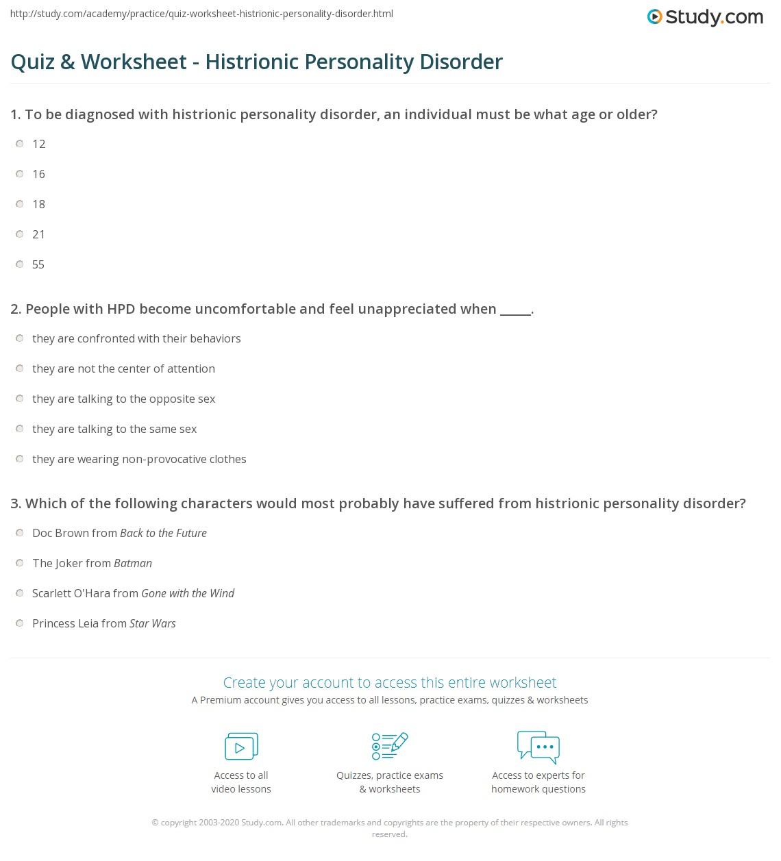 Case Study Narcissistic Personality Disorder Vs Borderline