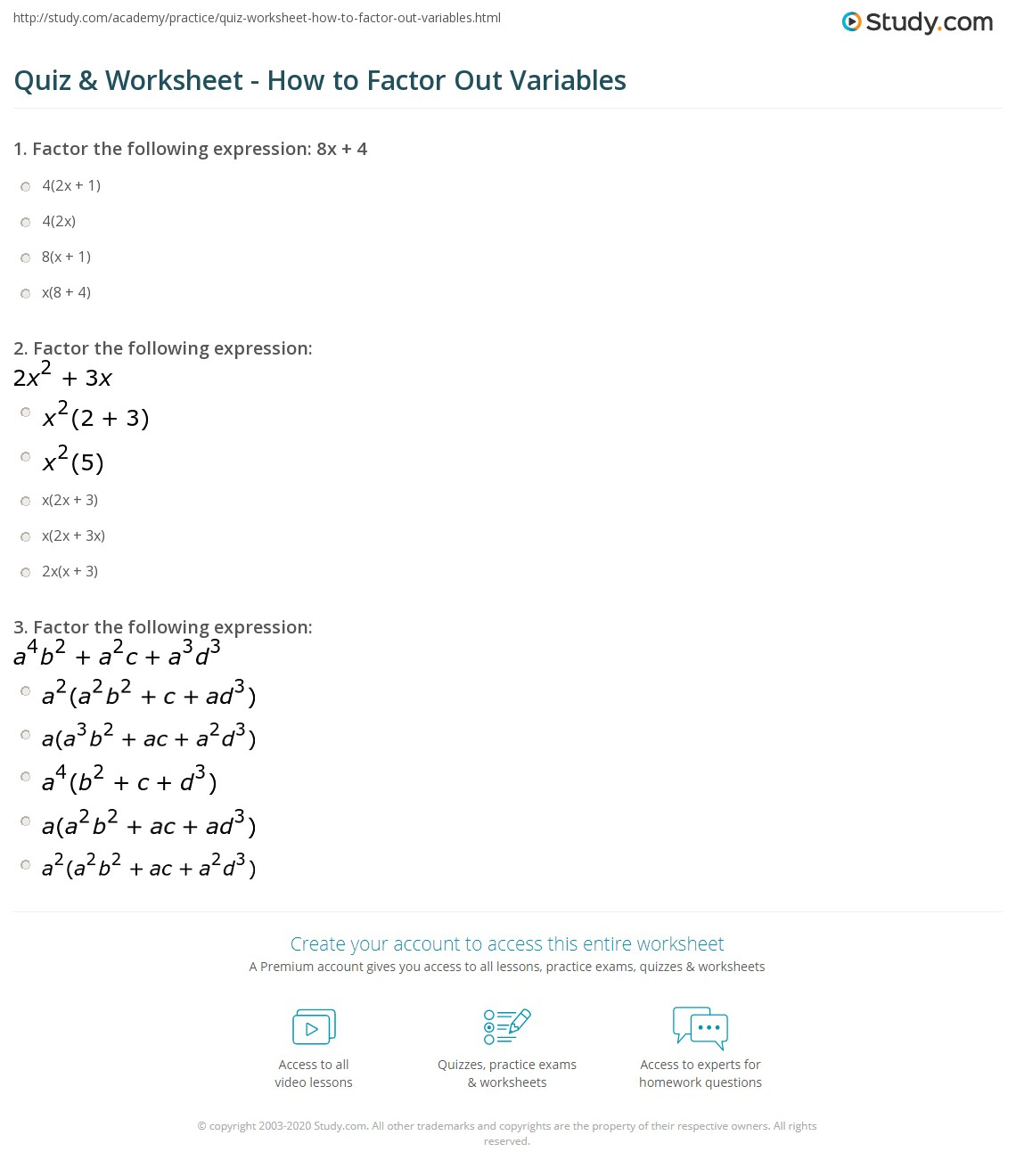Worksheet Variables And Expressions Worksheet Grass