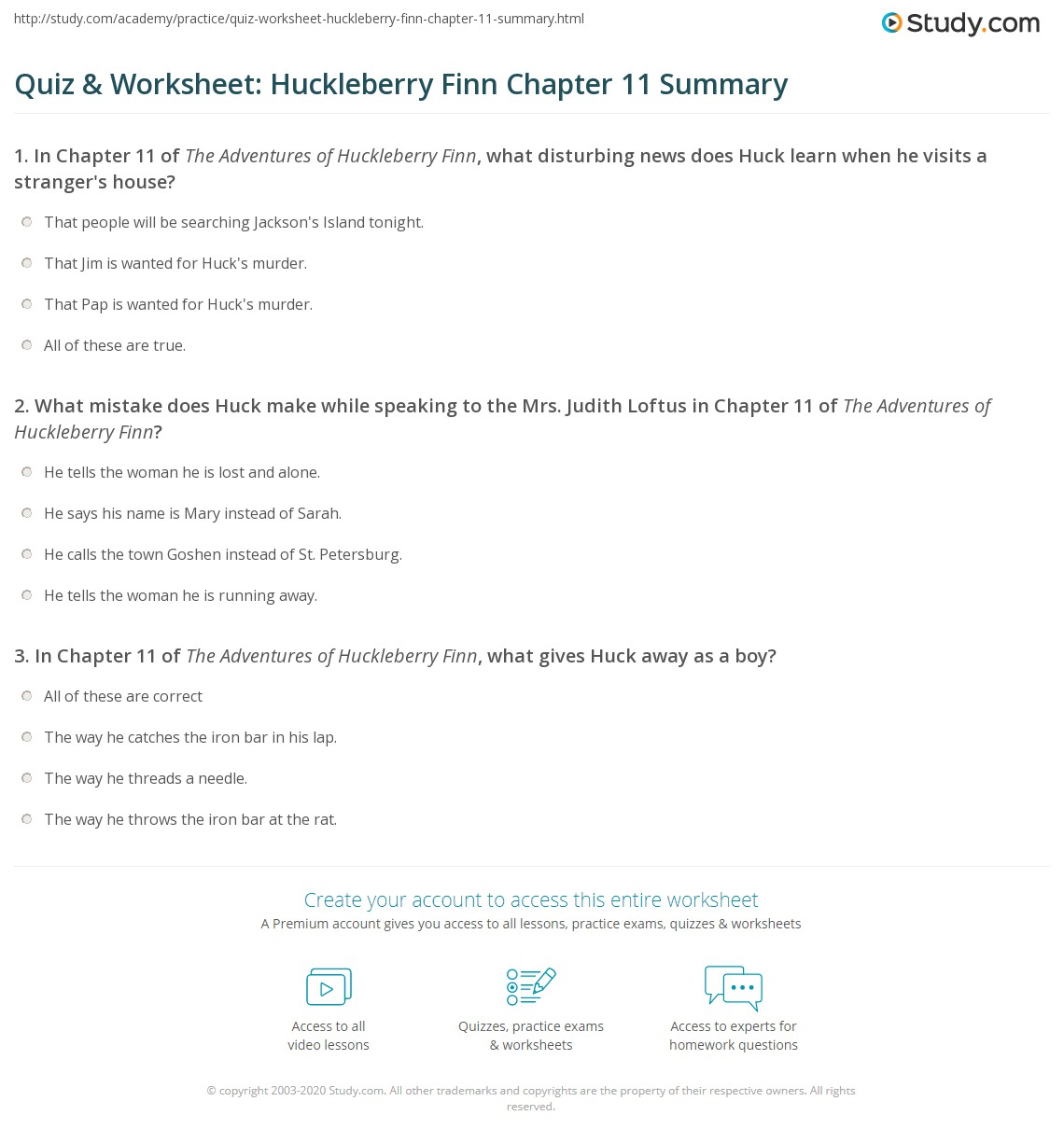 Book summary example – Chapter Summary Template
