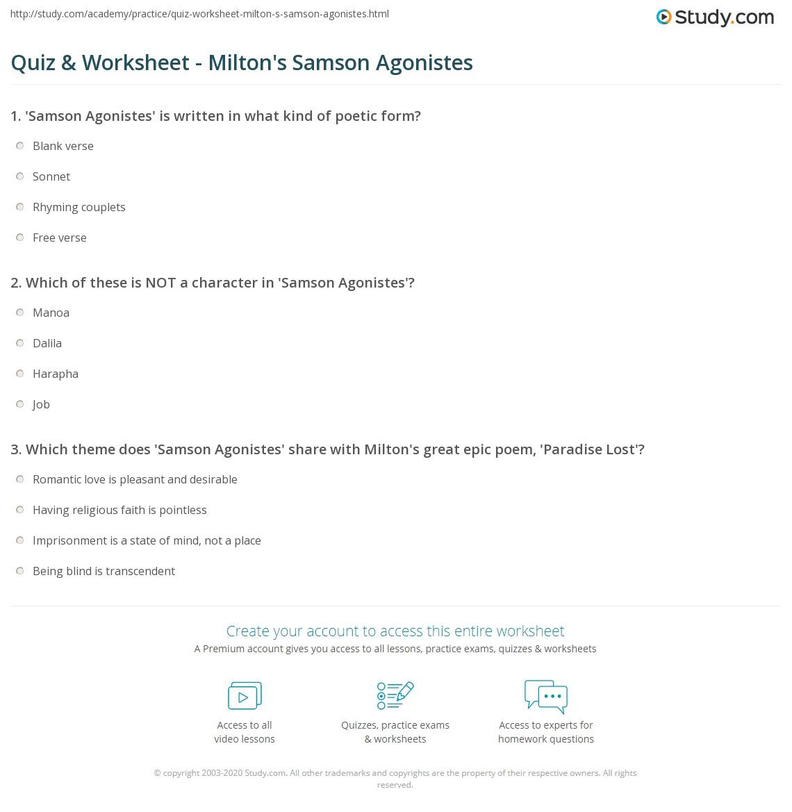 Samson Worksheet Samson And Delilah Printable Activity Sheets Samson Worksheets For