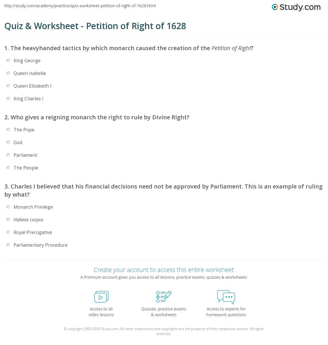 Printables Interpreting The Bill Of Rights Worksheet