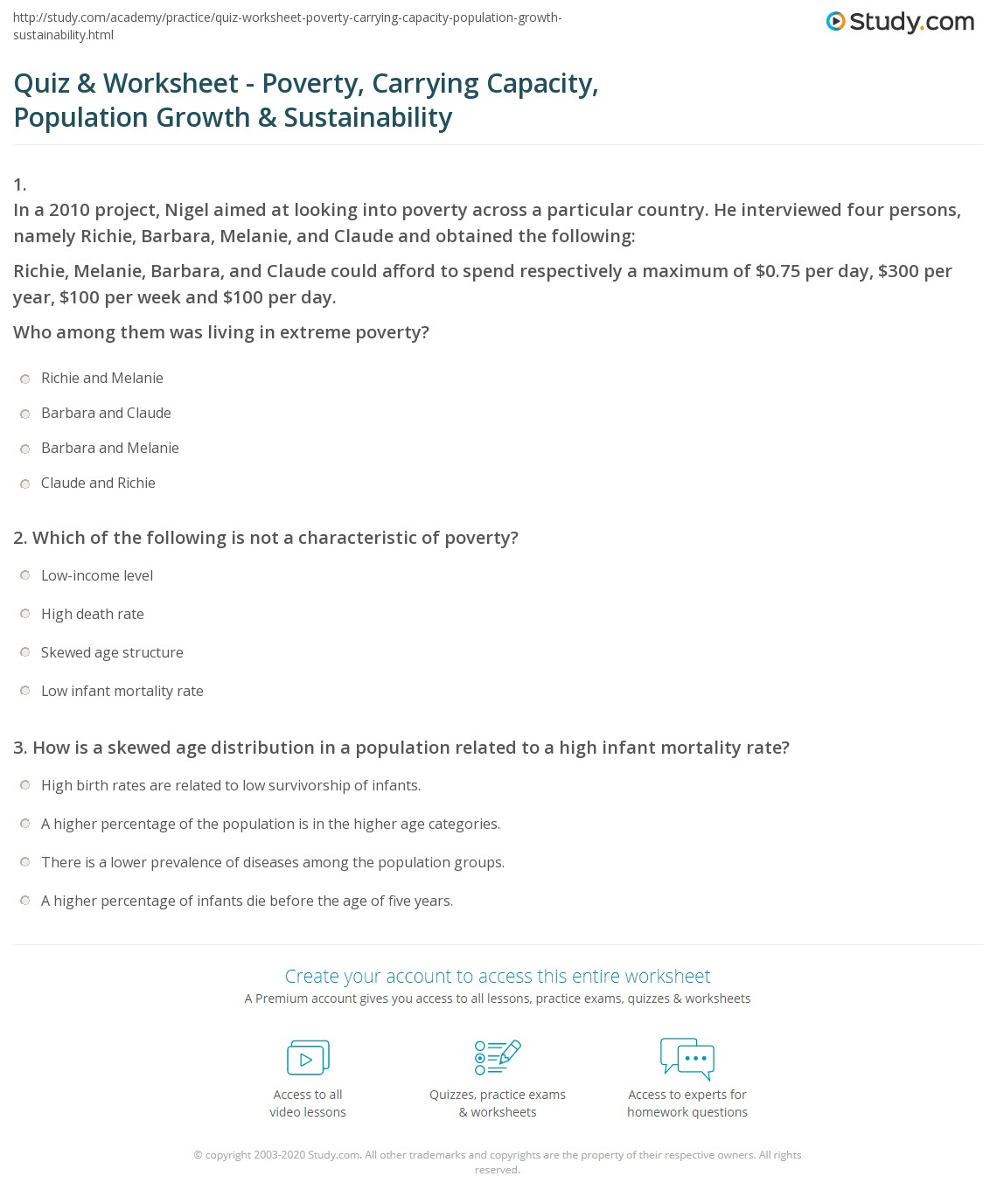Worksheet Human Population Growth Worksheet Grass Fedjp