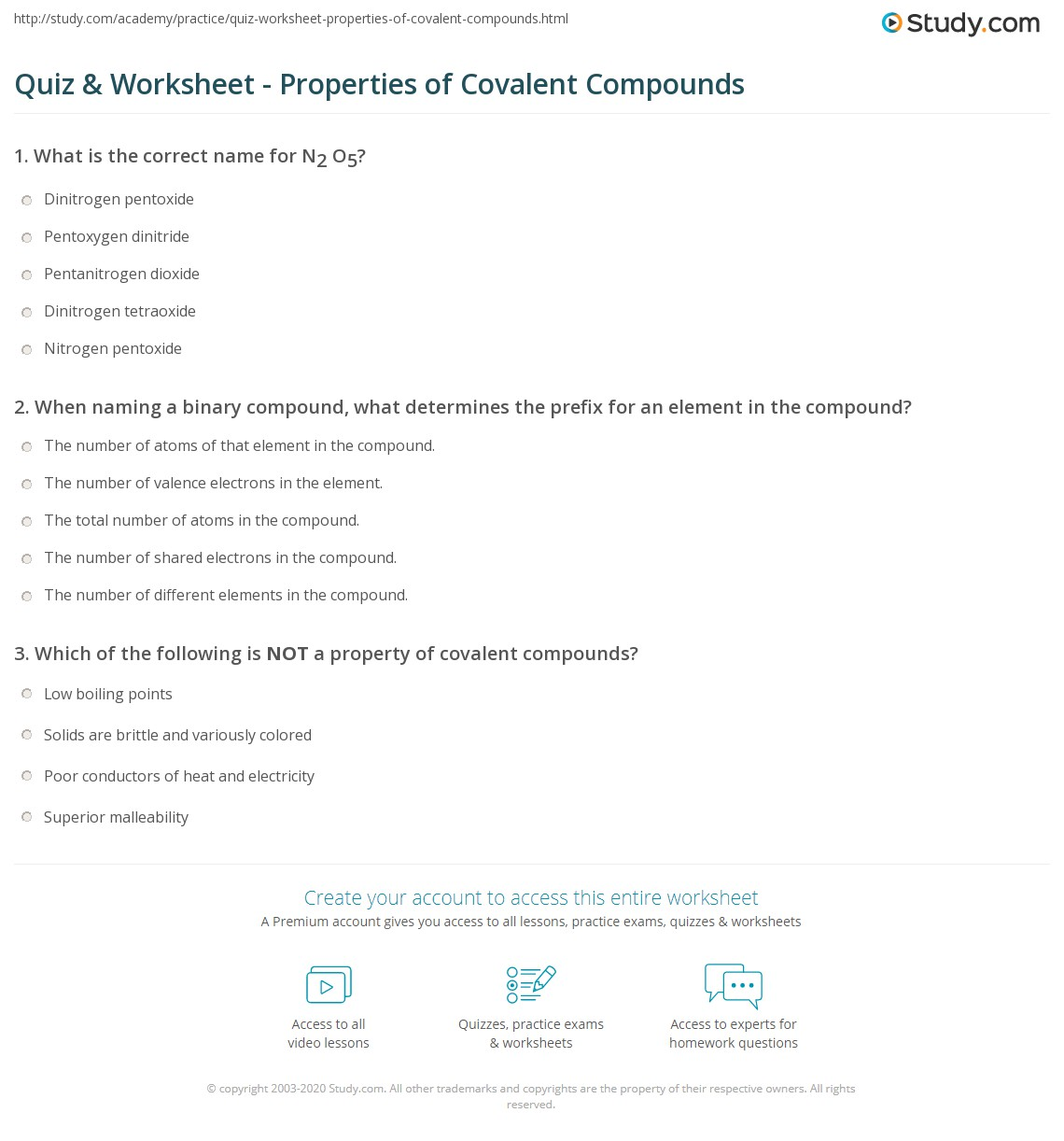 Worksheet Mixed Ionic Covalent Compound Naming Worksheet