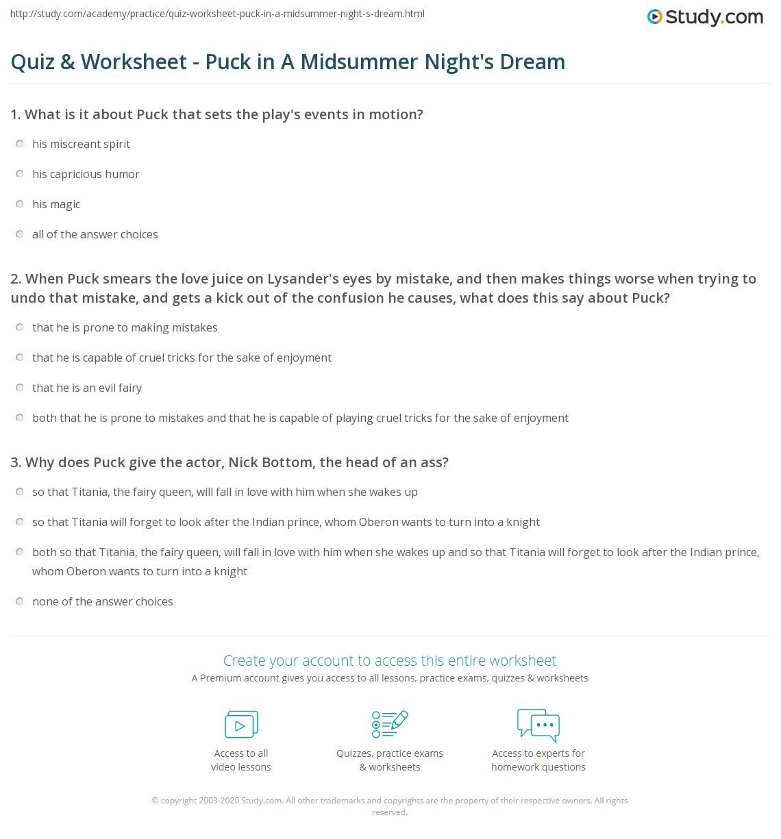 29 Dream Interpretation Worksheet Answers