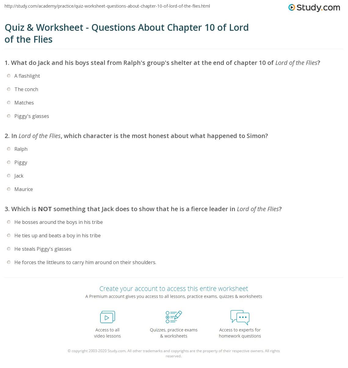Being Honest Worksheet