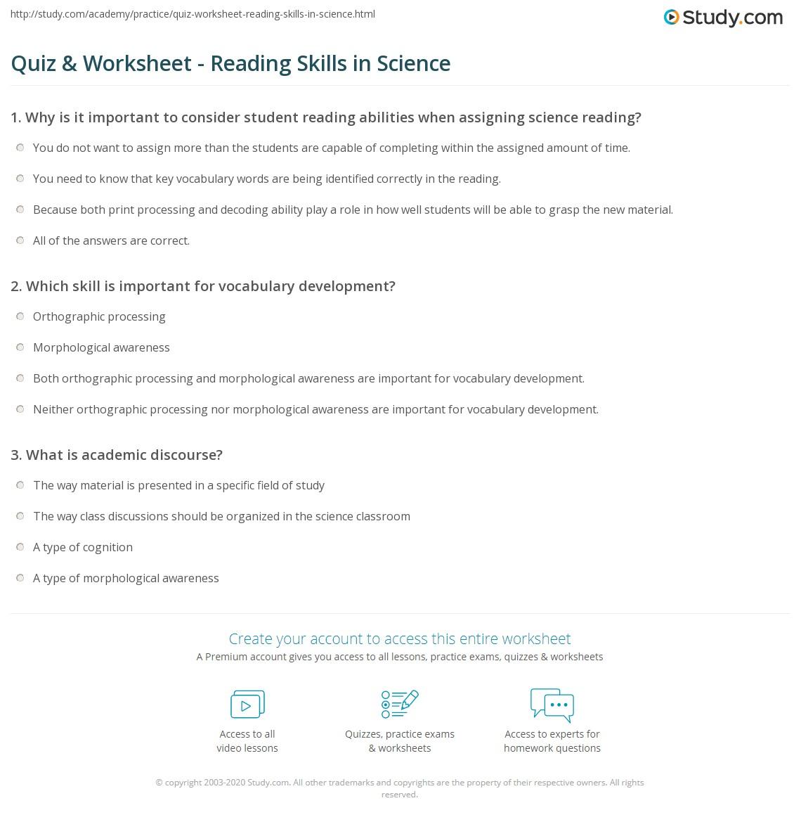 Worksheets Science Skills Worksheets science skills worksheet free worksheets library download and quiz w ksheet re d g study