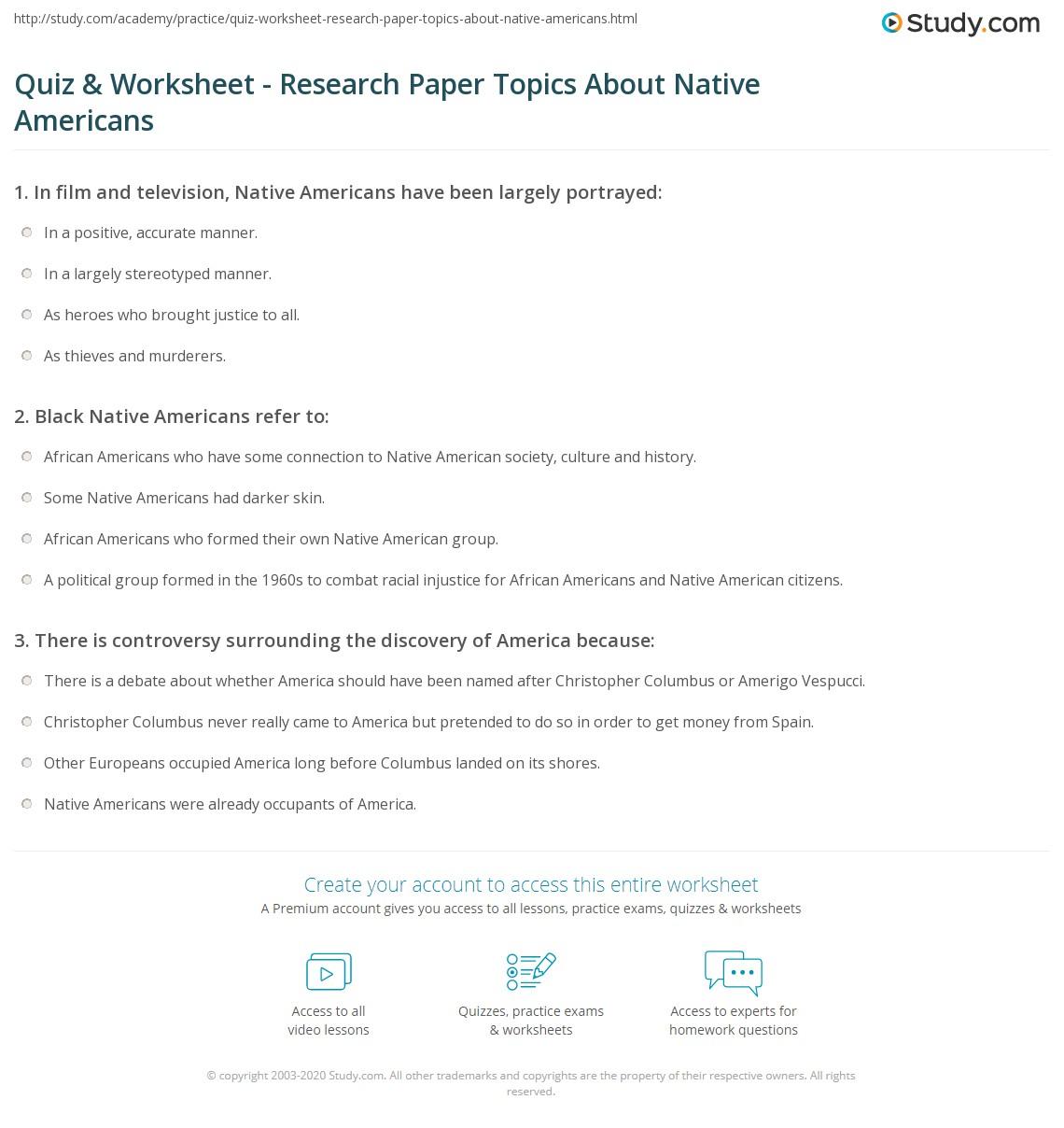 American Literature Research Paper Topics Research Topics