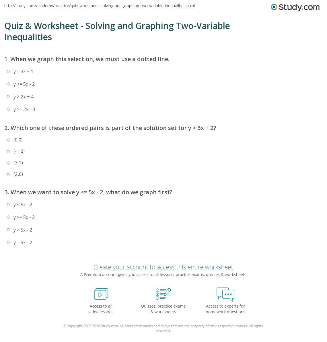Polynomial Inequalities Worksheet Kuta Answers Showing