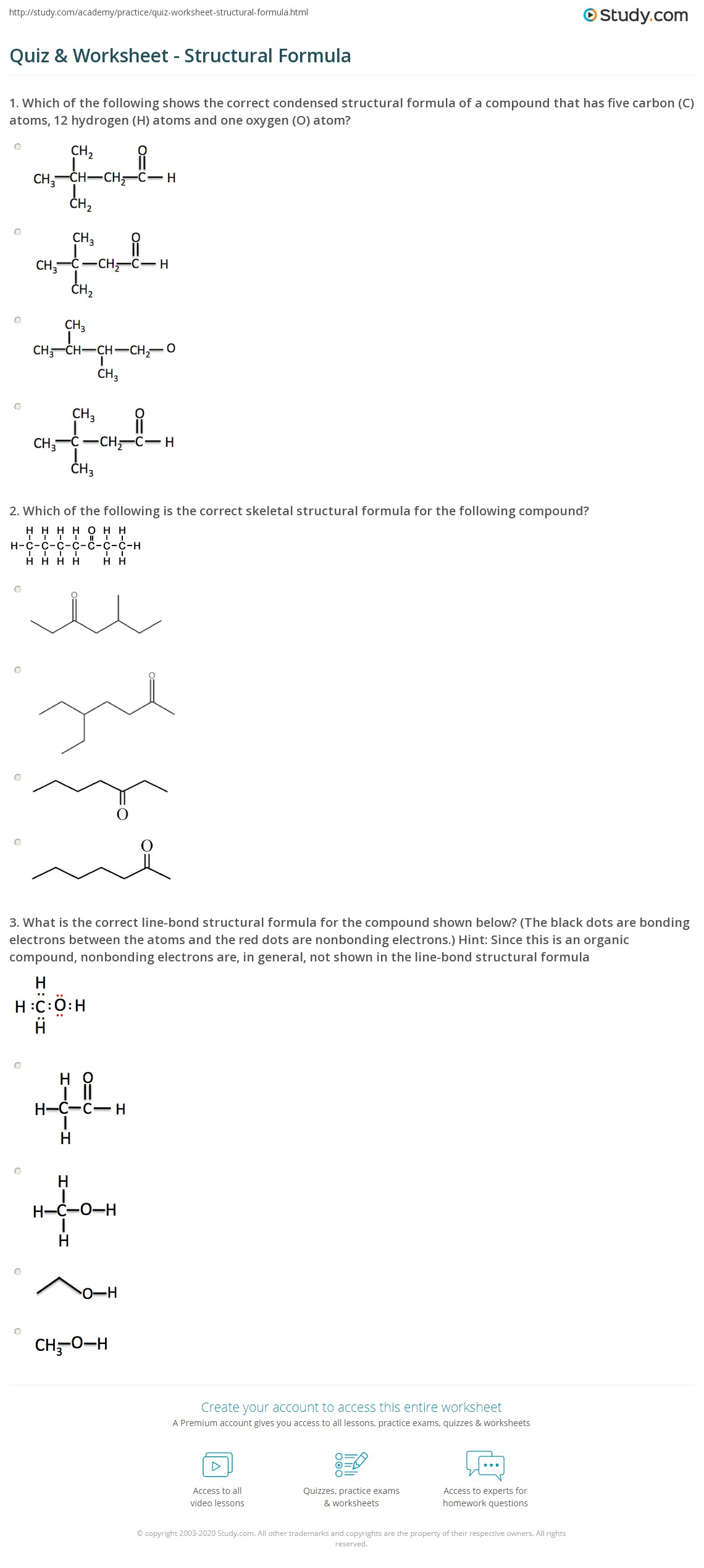Practice Writing Chemical Formulas For Ionic Compounds