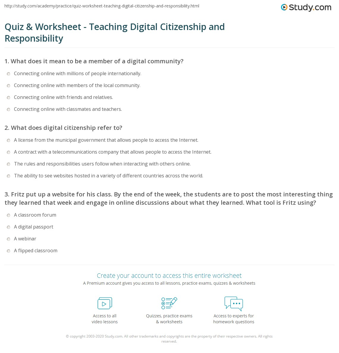 Worksheet Being A Good Citizen Worksheet Grass Fedjp Worksheet Study Site