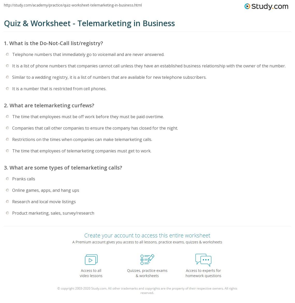 Telephone Worksheet For Kindergarten