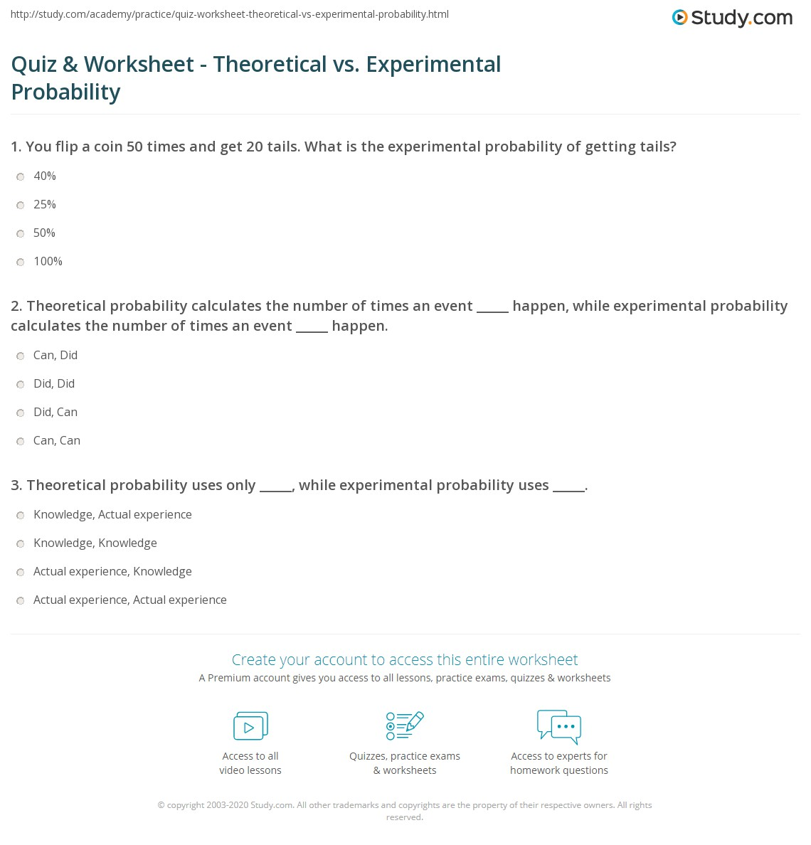 How To Find Experimental Probability 7th Grade
