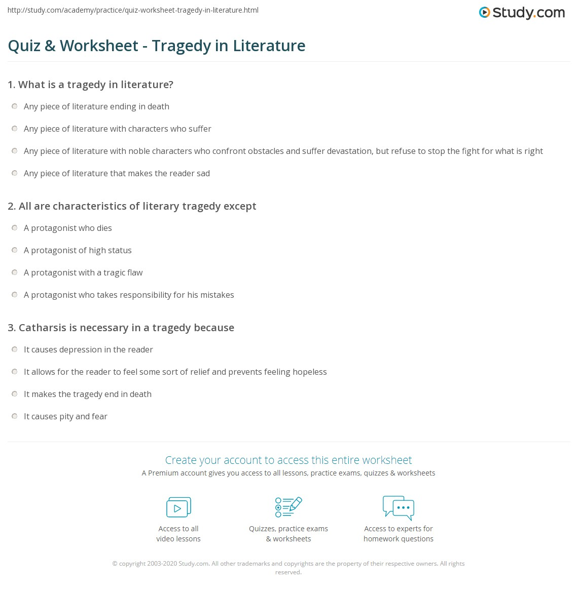 Examples Of Tragedy In Literature Tragic Hero Examples