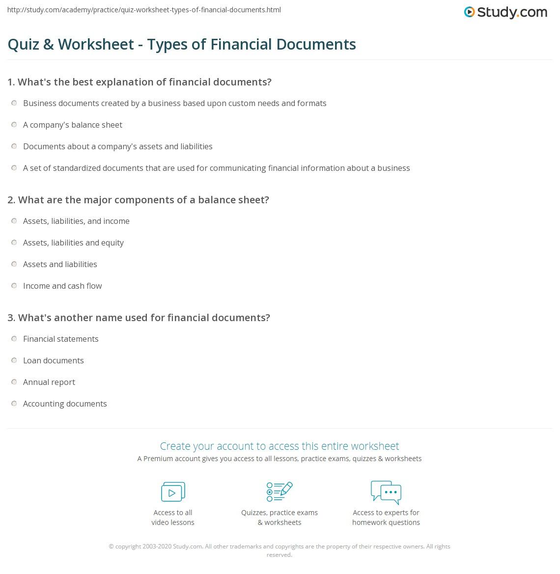 Dentrodabiblia Assets And Liabilities Worksheet