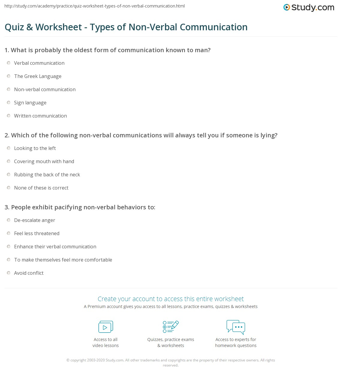 Verbal Communication Definition