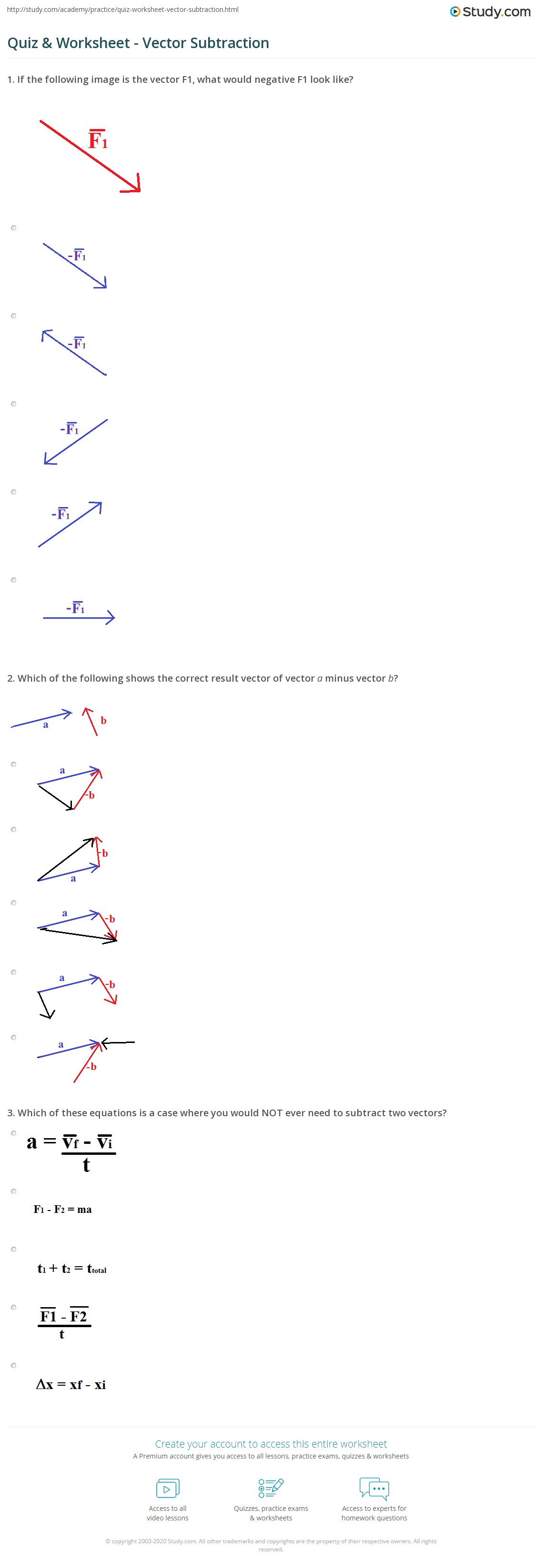 29 Vector Representation Worksheet Answers