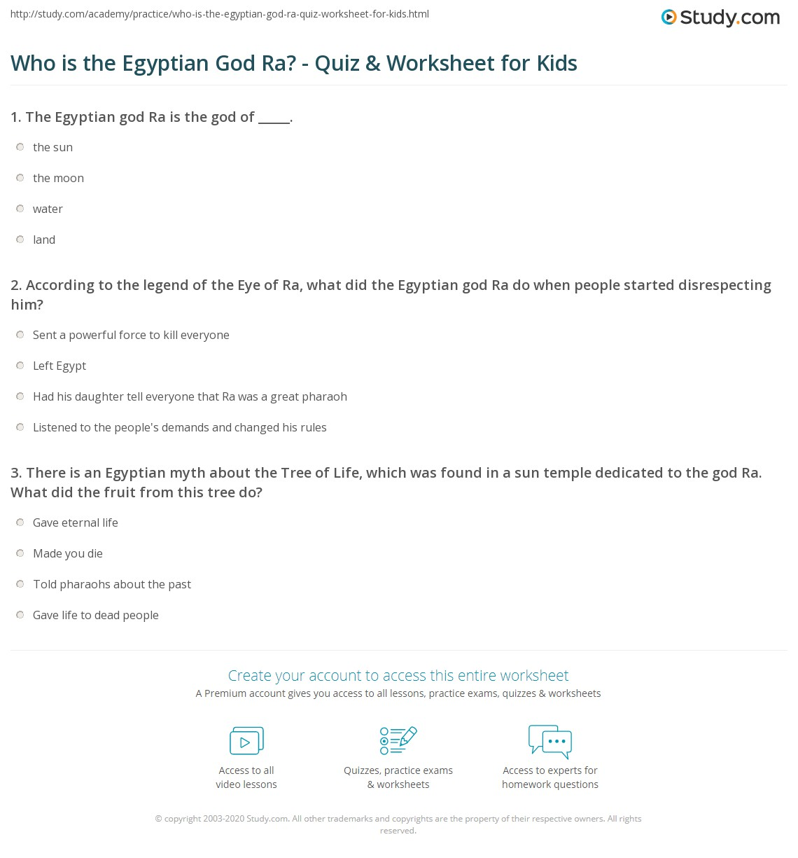 Who Is The Egyptian God Ra