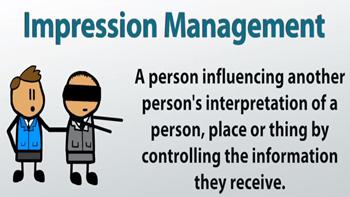 Image result for impression management