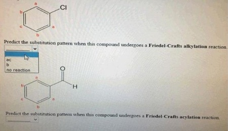 Predict The Substitution Pattern When This Compound