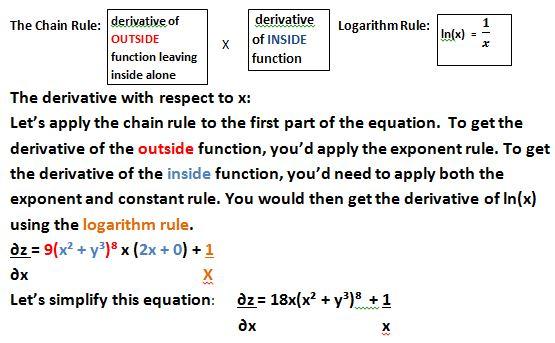 Solving Partial Derivative Equations Study Com
