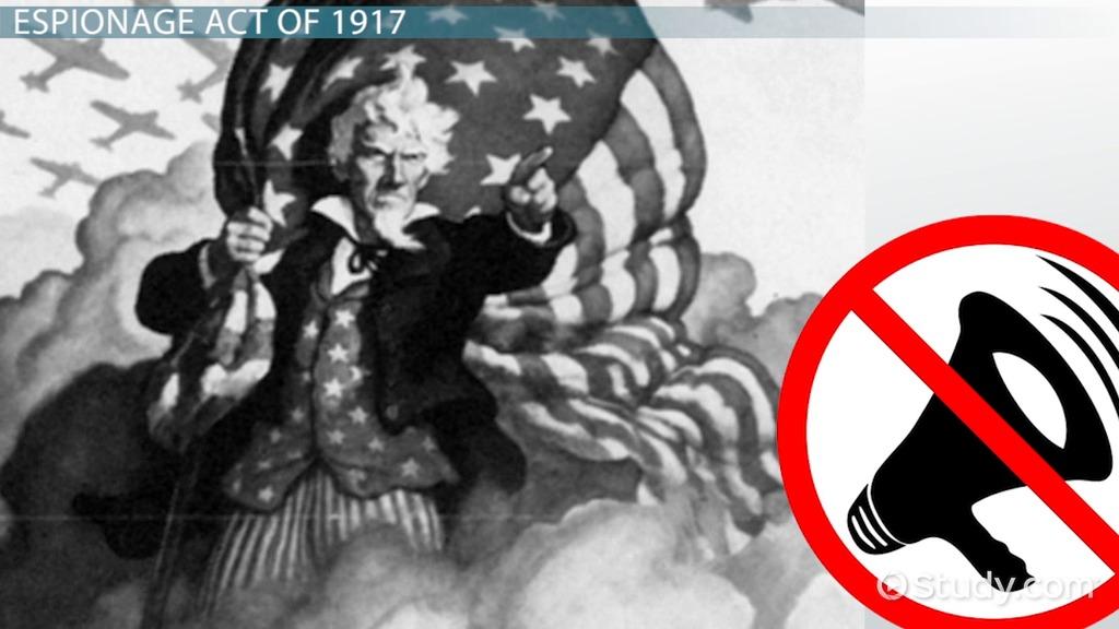 Espionage Act Of 1917 Definition Amp Summary Video
