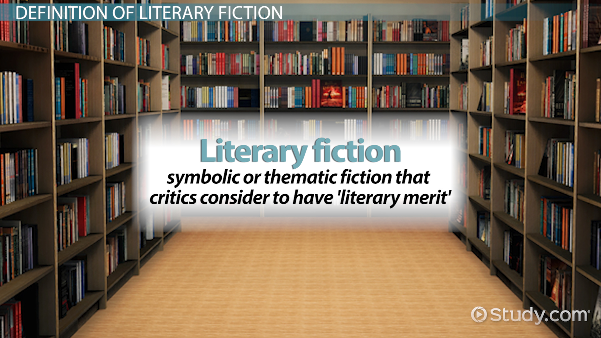 Literary Fiction Definition Amp Examples