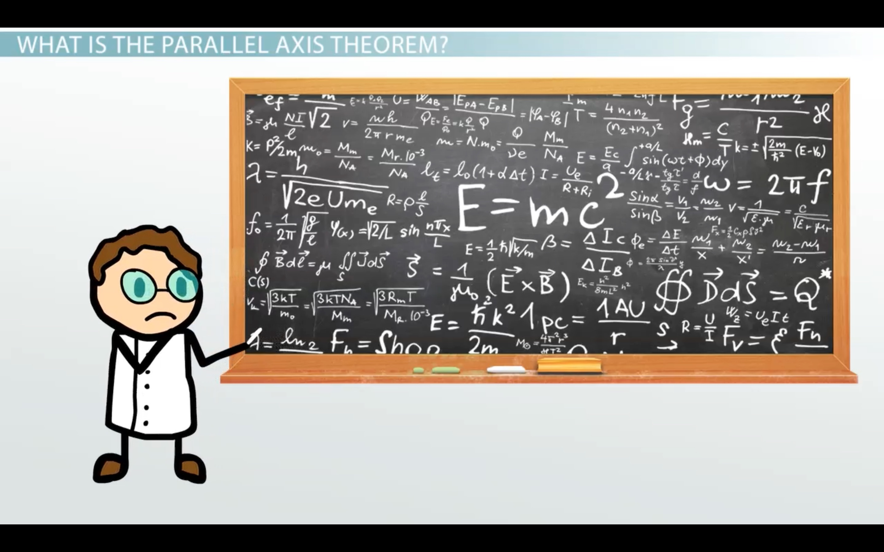 The Parallel Axis Theorem Amp The Moment Of Inertia