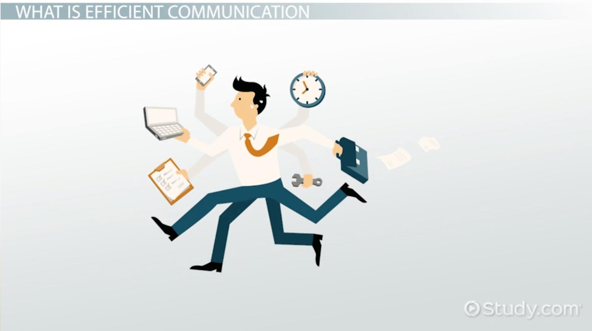 What Is Efficient Communication