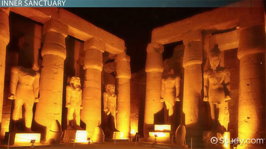 The Luxor Temple In Egypt Facts Amp Overview Video