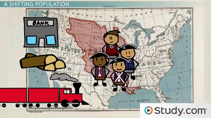 Economic Expansion In The 1800s Slavery Immigration