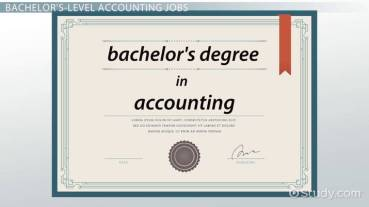 What Can I Do with a Bachelor's Degree in Accounting?