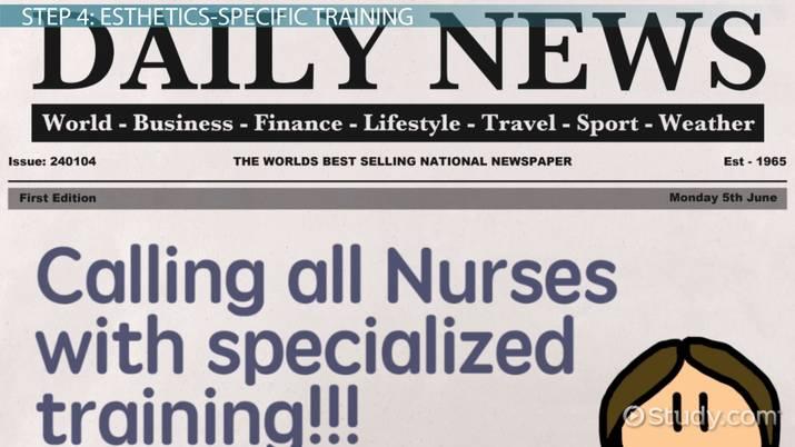 Become A Nurse Esthetician Education And Career Roadmap