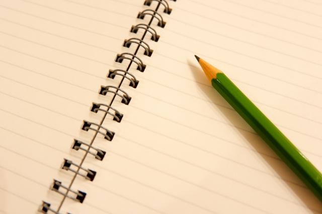 メモと鉛筆