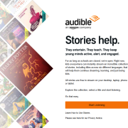 amazon audible free for children
