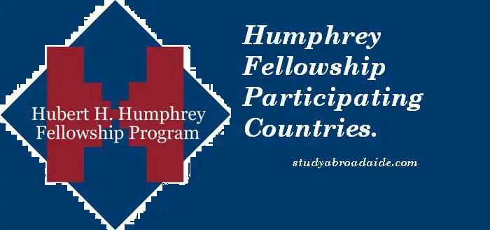 Humphrey Fellowship Participating Countries
