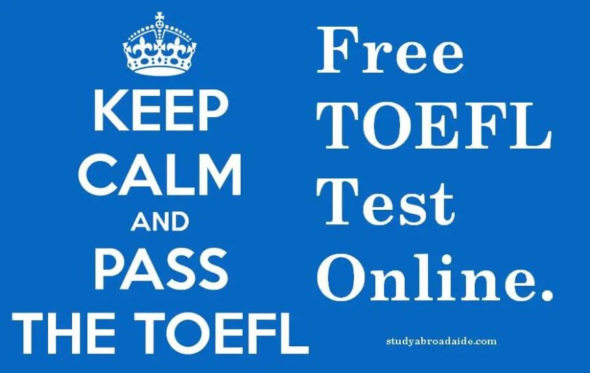 TOEFL Test Online