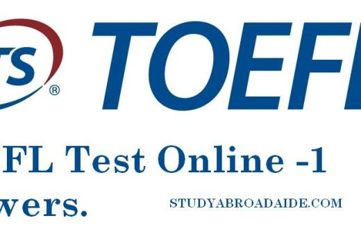 Toefl Sample Test