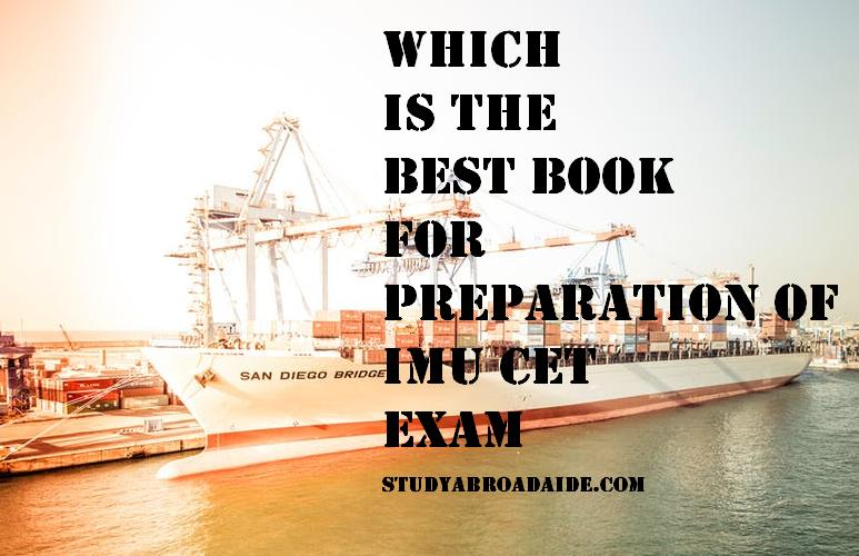 Which is the best book for preparation of IMU CET exam