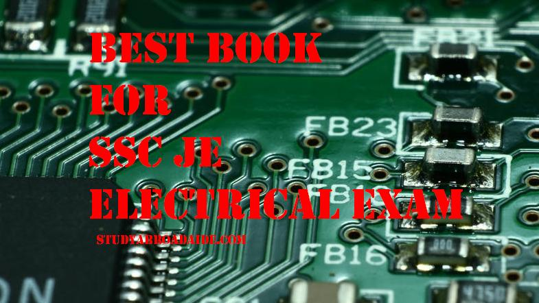 Best book for SSC JE Electrical exam