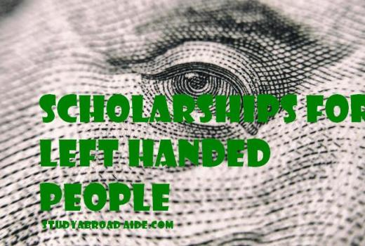 Scholarships for Left Handed People