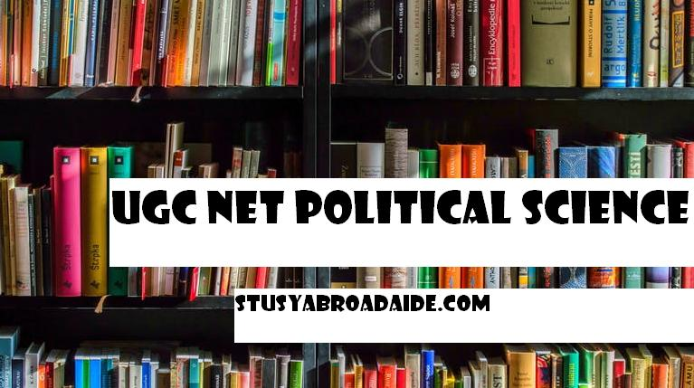 UGC NET Political Science Books