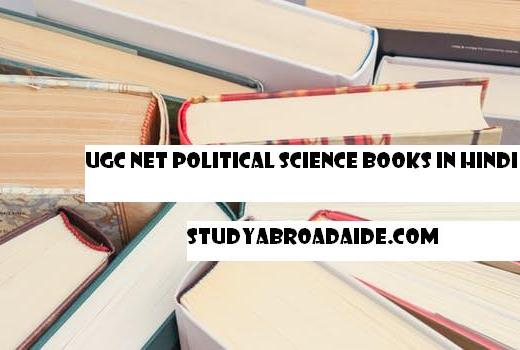 UGC NET Political Science books in Hindi