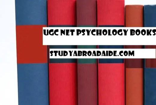 UGC NET Psychology Books