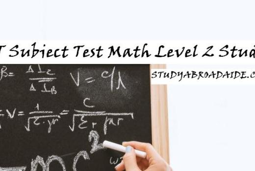 SAT Subject Test Math Level 2 Study Guide