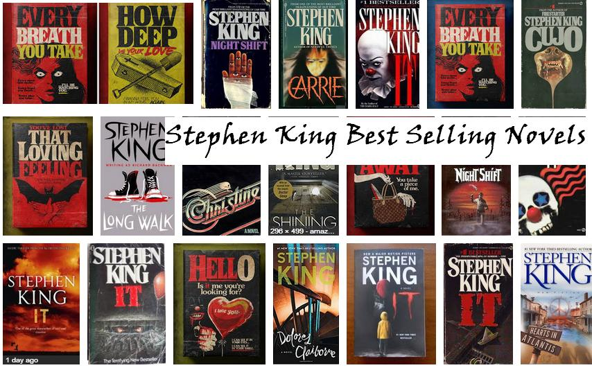 Stephen King Best Selling Novels